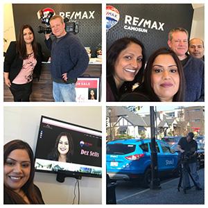 Thanks SHAW TV & John MacKenzie (Camera Man) & Sima Saxena for an amazing video shoot today! Was Lots of Fun!