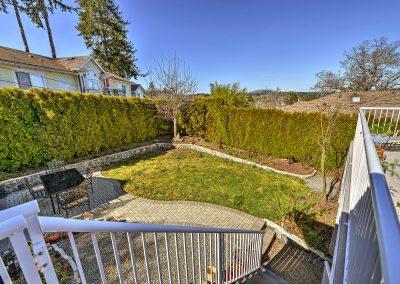 Backyard and View