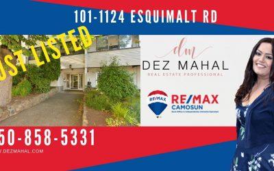 Just Listed #101-1124 Esquimalt Rd