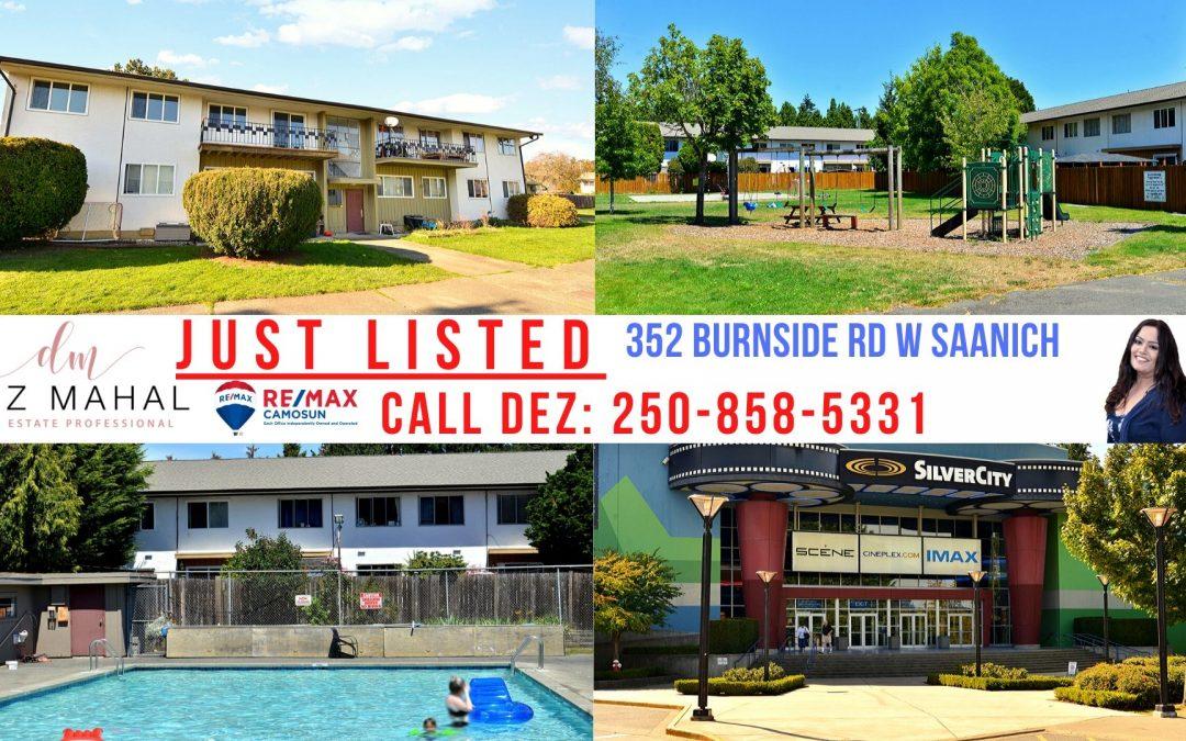 New Listing :352 BURNSIDE RD W SAANICH, BC, V8Z 1M1